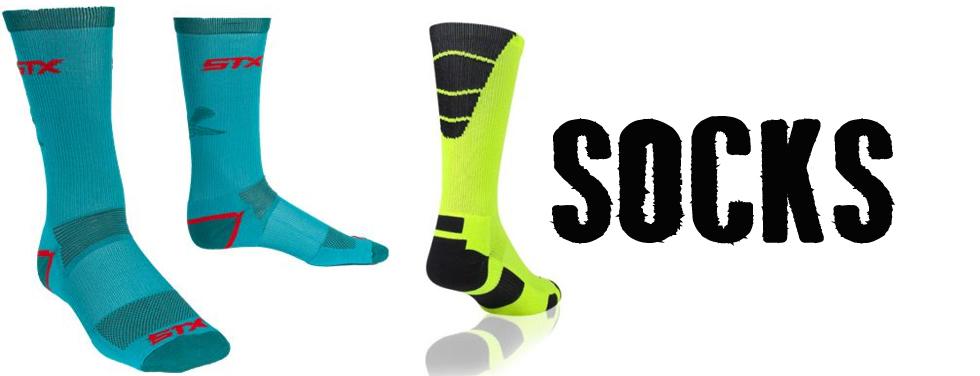 Socks STX Scrubs Lacrosse Apparel Warrior Brine Gait Maverik Mens clothing performace socks